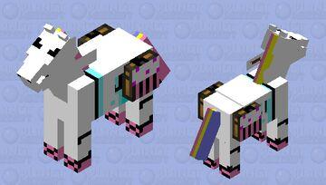 Mythical pony Minecraft Mob Skin