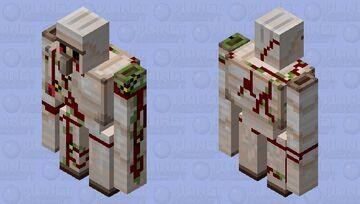 Bloody Golem! Minecraft Mob Skin