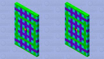 Cape Abstract Art Minecraft Mob Skin