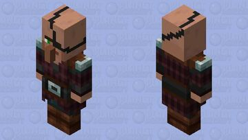Captain Villager Guard Minecraft Mob Skin