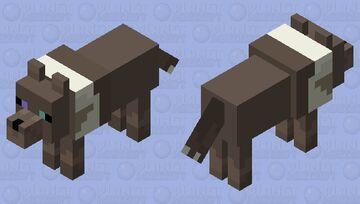 Lighted Ground Minecraft Mob Skin