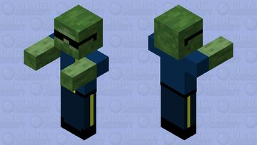 Officer Infection 2.0 Minecraft Mob Skin