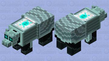 Pholax Colossus (Polar Bear) Minecraft Mob Skin