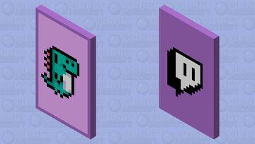 GlitchCon 2020 Cape Minecraft Mob Skin