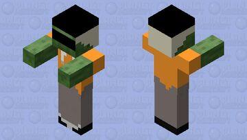 Sk3tchYT Zombie Minecraft Mob Skin