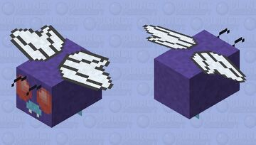 Butterfree - Pokemon Bee Replacer Minecraft Mob Skin