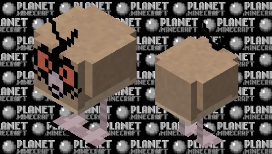 Hoothoot Pokemon Chicken Replacer Minecraft Skin