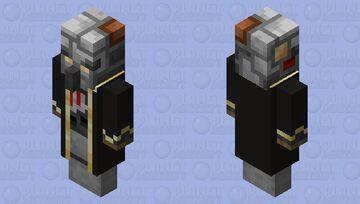 Redstone Evoker Minecraft Mob Skin