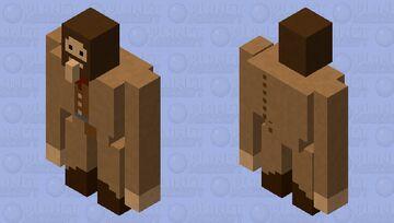 Hagrid (Harry Potter) Minecraft Mob Skin