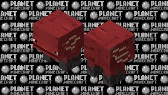 it's a strider,ok? nothing else Minecraft Skin