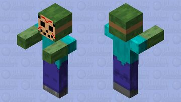Jason Zombie Minecraft Mob Skin