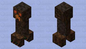 Magma Cube Creeper Minecraft Mob Skin
