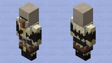 Witch(Taiga)(Captain) Minecraft Mob Skin