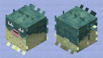 Qwilfish Minecraft Mob Skin
