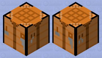 Crafting Table Shulker Minecraft Mob Skin