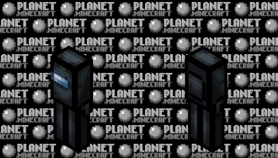 Among us Black (Crewmate) (Retexture) Minecraft Skin