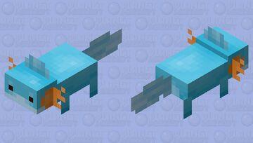 Mudkip (axolotl) Minecraft Mob Skin