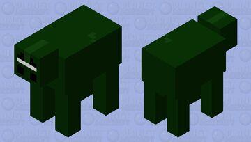 Night dog Minecraft Mob Skin