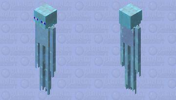 Endersicle (Ice Spikes Enderman) Minecraft Mob Skin