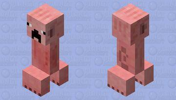 First Creeper Minecraft Mob Skin