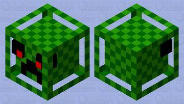 Creeper in the Box Minecraft Mob Skin