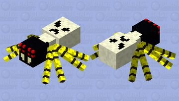 Skulltula (updated) Minecraft Mob Skin
