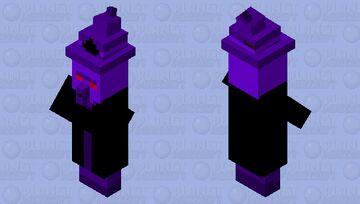 Void Witch Minecraft Mob Skin