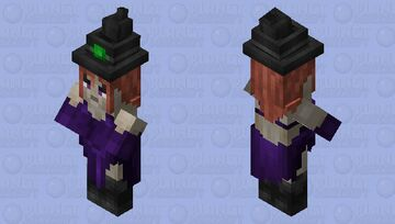Young Witch Minecraft Mob Skin