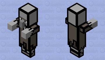 cartoon zombie villager (The last cartoon skin) Minecraft Mob Skin