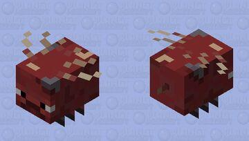 Strider Bee (Stee/Brider) Minecraft Mob Skin