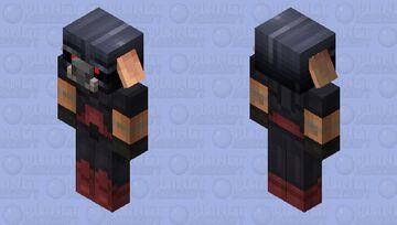 The Darth Xisuma Piglin (Credits By Vanilla Tweaks) Minecraft Mob Skin