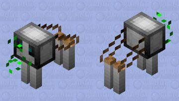 robot wolf (Domesticated) Minecraft Mob Skin