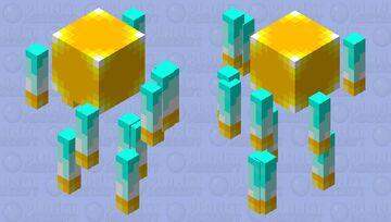 Keeper of the golden spheres [goldenevent] Minecraft Mob Skin