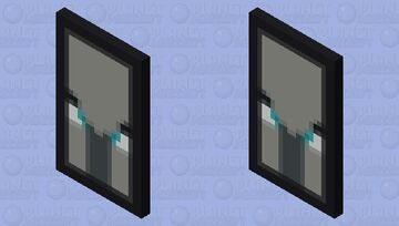 Ominous Banner Minecraft Mob Skin