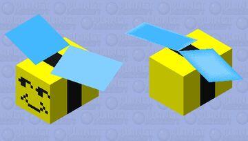 Honey Bee - Bee Swarm Simulator Minecraft Mob Skin