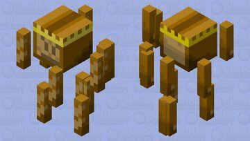 Bread King Minecraft Mob Skin