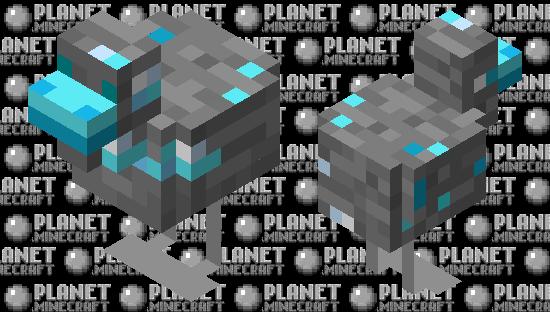 Diamond Chicken Minecraft Skin