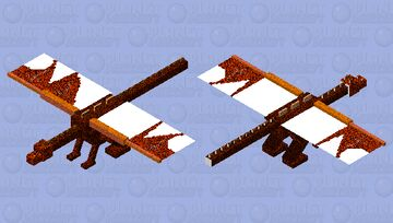 Dragon of the Nether Minecraft Mob Skin