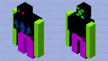 Dark enemy's guard Minecraft Mob Skin