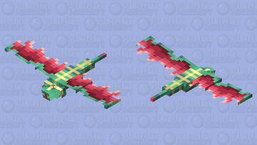 Quetzalcoatl Minecraft Mob Skin