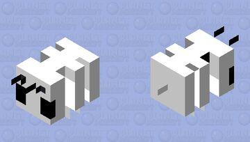 A bees skeleton Minecraft Mob Skin