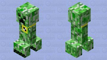 "Creeper raper (dan buul's music ""creeper rap"") Minecraft Mob Skin"