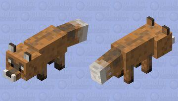 Vihxc fox- natural Minecraft Mob Skin