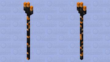 Fire Trident (FIXED) Minecraft Mob Skin
