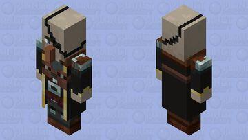 Witch(Captain) Minecraft Mob Skin