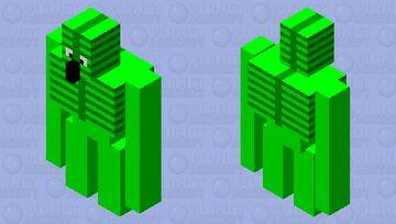 Leafy Golem Minecraft Mob Skin