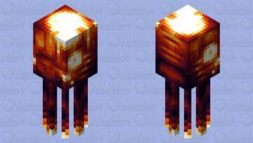 Lava squid || Biome switch contest Minecraft Mob Skin