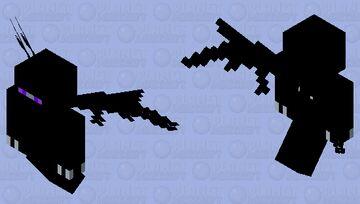 Dark Viper Dragon Vex Minecraft Mob Skin