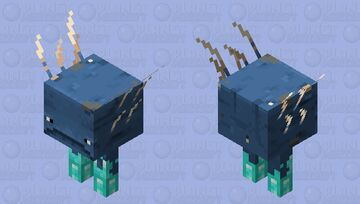 Walter (Walker + Water) Minecraft Mob Skin
