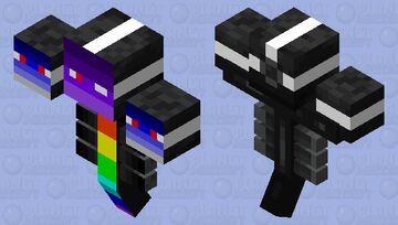 Wither .  .  ? Minecraft Mob Skin